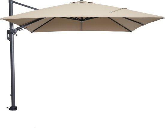 Zweefparasol Vierkant 400x400.Bol Com Garden Impressions Hawaii Parasol Zweefparasol 300x300