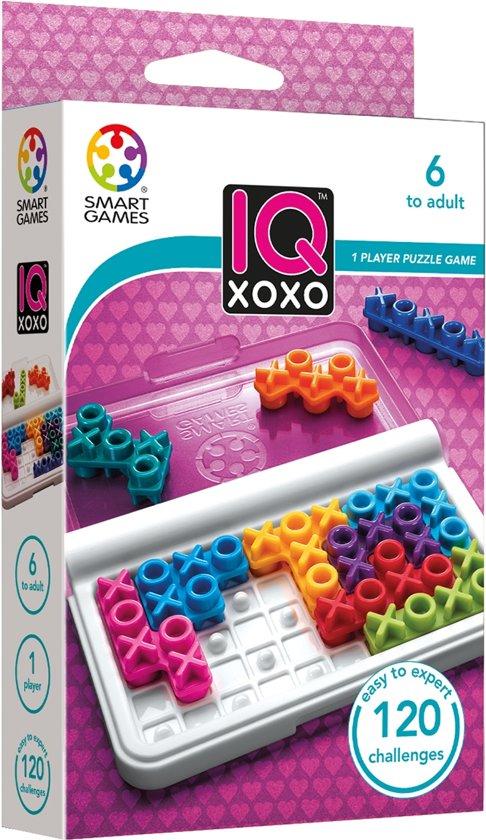 Thumbnail van een extra afbeelding van het spel Smart Games IQ XoXo (120 opdrachten)