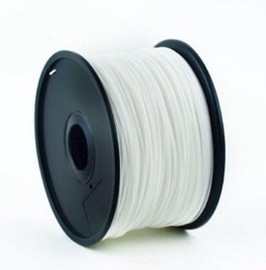 Gembird3 3DP-ABS3-01-W - Filament ABS, 3 mm, wit