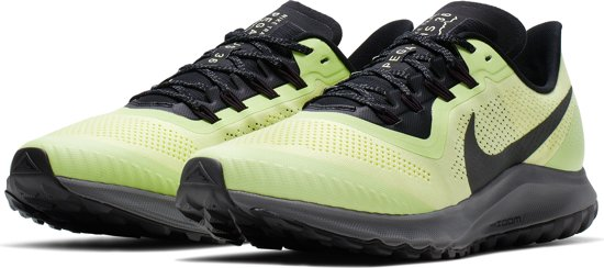 Nike Air Zoom Pegasus 36 Trail Sportschoenen Heren - Luminous  Green/Burgundy Ash-Black-Lab Green-Dk Grey