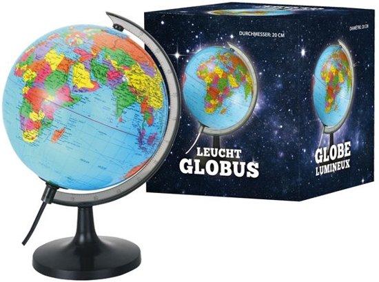 Wereldbol Met Licht : Bol globe cm verlichting van der meulen speelgoed