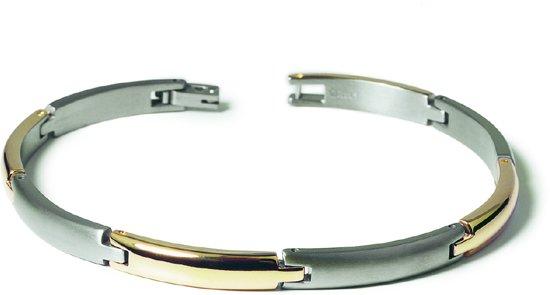 Boccia Titanium 0320-03 Armband - Titanium - Bicolor