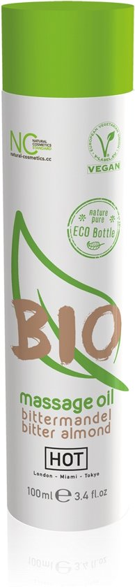 HOT BIO Massageolie Bittere Amandel - 100 ml