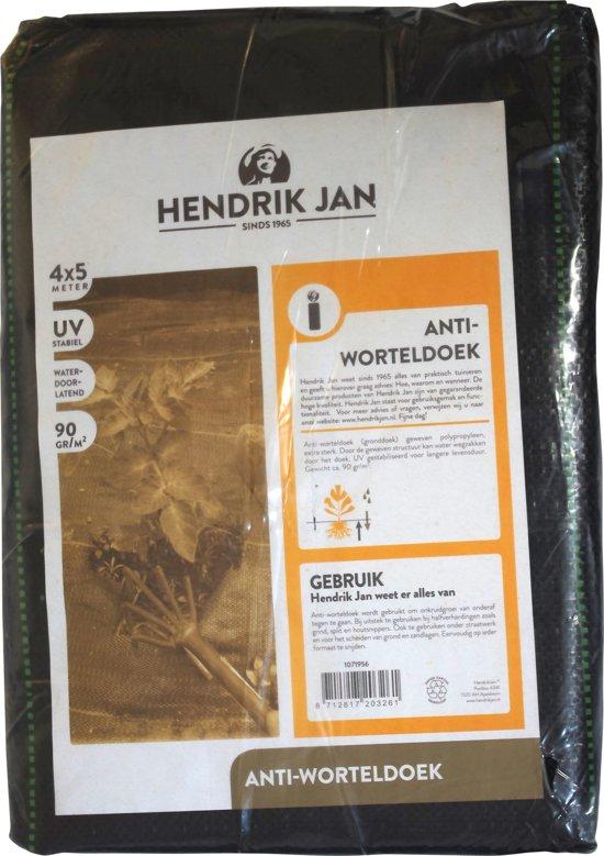 Hendrik Jan anti worteldoek 4 x 5 m