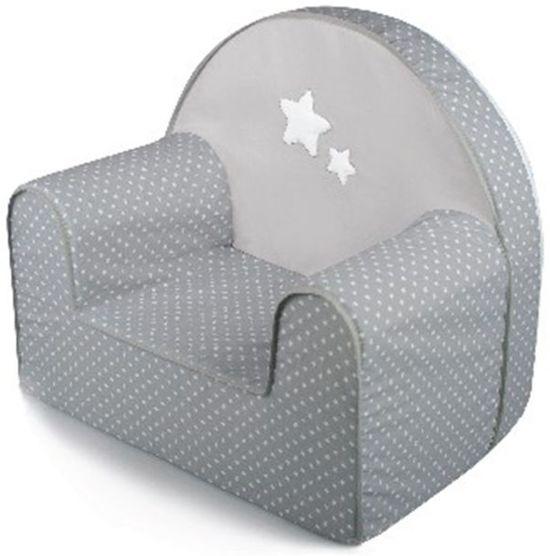 Kid's Sofa - Kinderfauteuil Baninni Divani Grijs