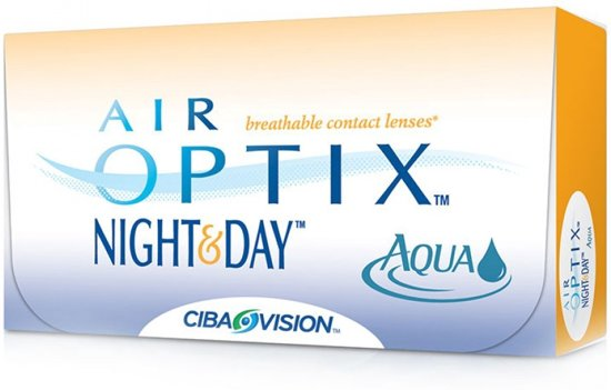 -7,50 Air Optix Night&Day Aqua - 6 pack - Maandlenzen - Contactlenzen in Balhofstede