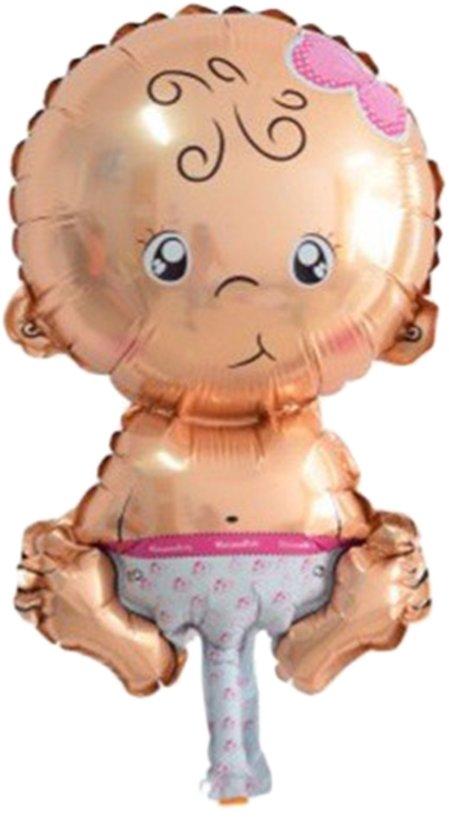 Ballon baby girl   Folie   Helium   Geboorte   20x30cm