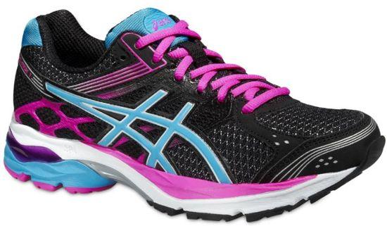 Asics Gel-Pulse 7 Hardloopschoenen - Maat 39 - Vrouwen - zwart/blauw/roze