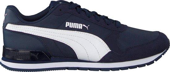 bol.com | Puma Meisjes Sneakers St Runner V2 Nl Jr - Blauw ...