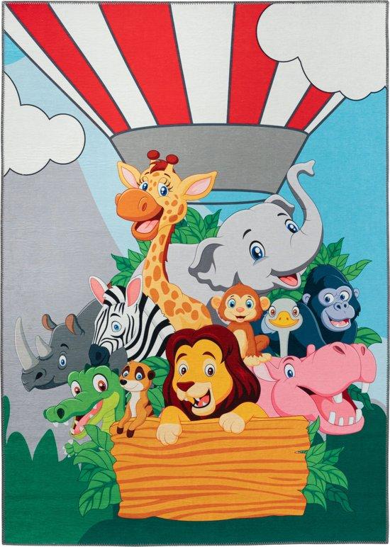 Vrolijk vloerkleed kinderkamer TOK - Balloon Animals - 160x230 cm