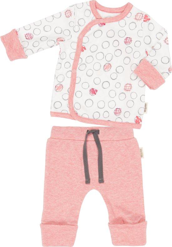 Baby Verhip truitje + broekje bloesem 0-3 mnd