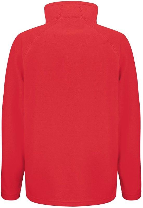 Senvi Laag Microfleece Maat L Basic Thermisch Rood Fleece Vest Kleur PPa1qOv