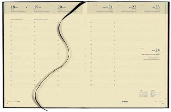 AGENDA 2019 BREPOLS CONCORDE 7DAG/2PAGINA ZWART