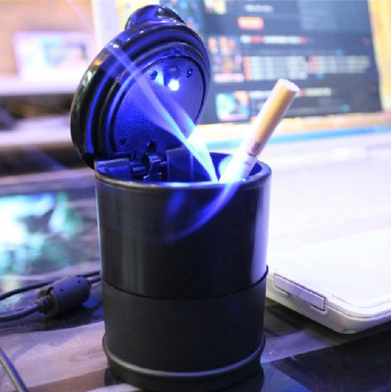 bol.com   Universele asbak voor in de auto - Asbak met LED - Auto ...