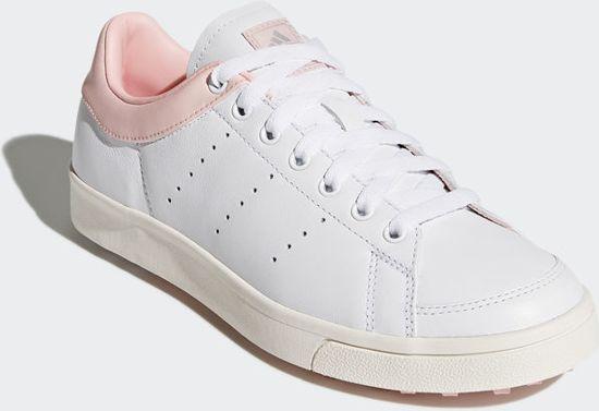 the best attitude a3eec 1e1a7 adidas - adicross classic - sneaker - golfschoen - wit - roze - dames