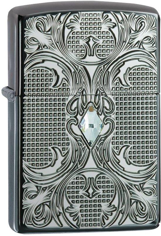 Aansteker Zippo Armor Case Floral Design