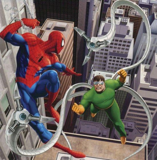 Bol Com Spider Man Dubbele Wenskaart Verjaardagskaart Merkloos