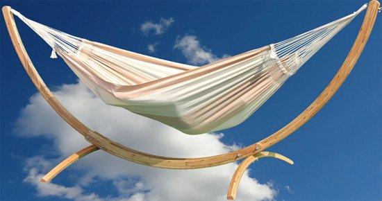 Hangmat Dunes XL Desert met Arc Lariks standaard
