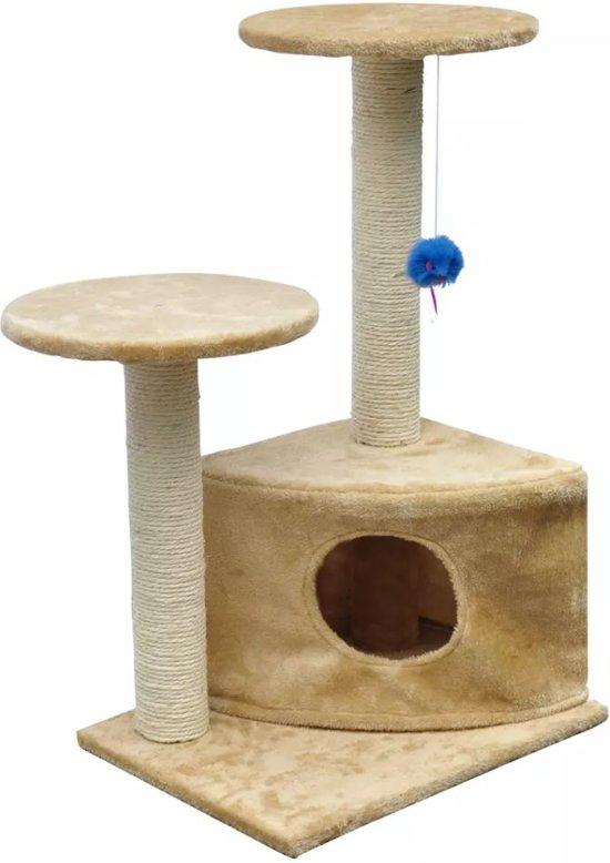 Krabpaal Lucky 70 cm - Beige