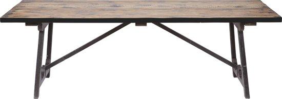 BePureHome Craft Tafel - Zwart - 76x190x90