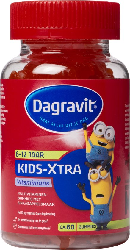 Dagravit Kids-Xtra VitaMinons - 60 gummies