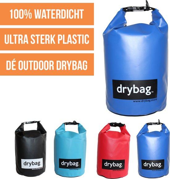 Drybag.store - waterdichte tas - 5l - donker blauw