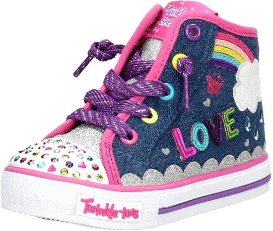df6bedb12b2 bol.com | Skechers Twinkle toes sneakers blauw