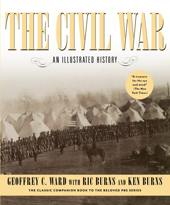 Boek cover The Civil War van Geoffrey C. Ward (Hardcover)