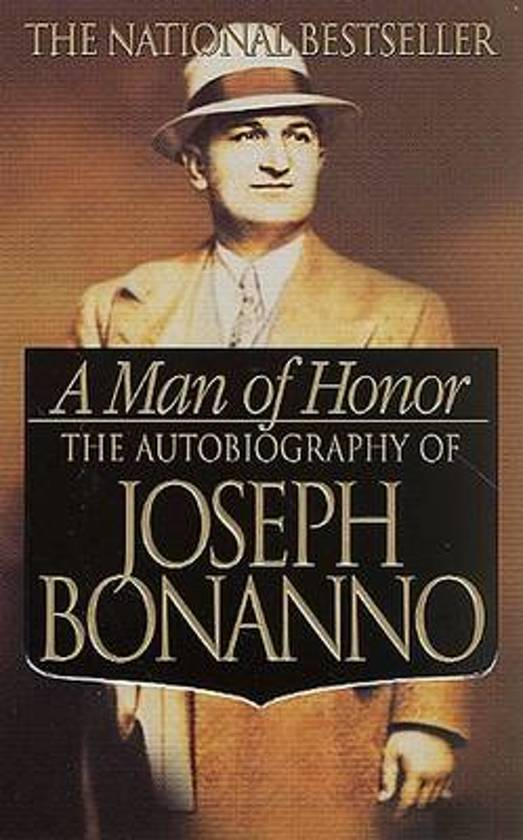 Boek cover MAN OF HONOR van Joseph Bonanno