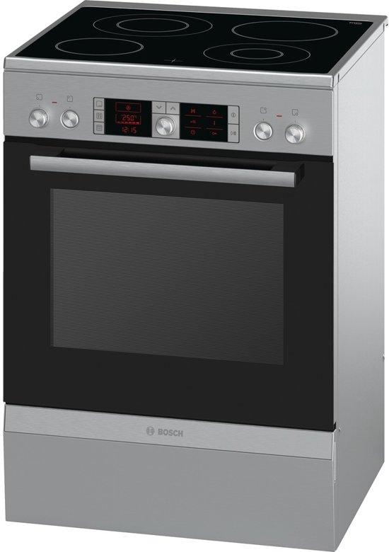 Bosch HCA854450 Vrijstaand fornuis Keramisch A Roestvrijstaal fornuis