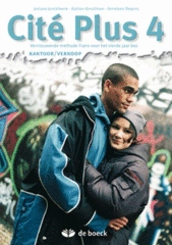 Cité plus 4 kantoor verkoop leerwerkboek cd rom