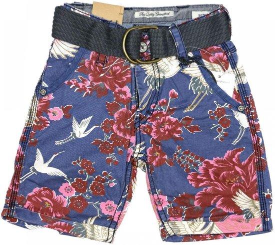 ea4f9903e37984 bol.com | Cars Jongens korte broek jongen blauw - Maat 152