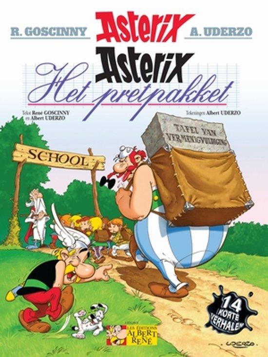 Boek cover Asterix 32 - Het pretpakket van Albert Uderzo (Paperback)