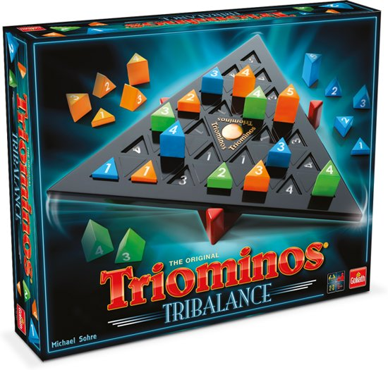 Triominos - Tri-Balance - Gezelschapsspel - Goliath