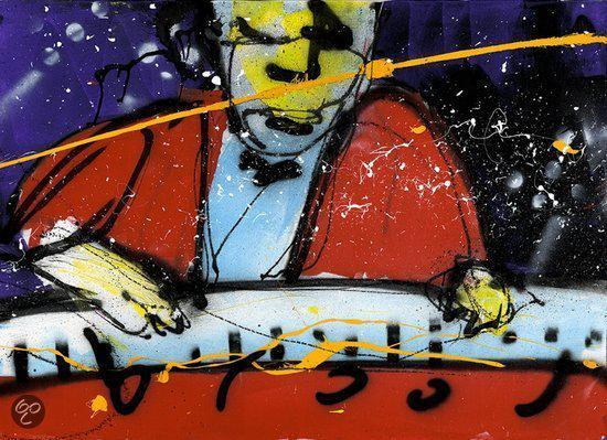 Herman Brood  3D Art-print 'IK'