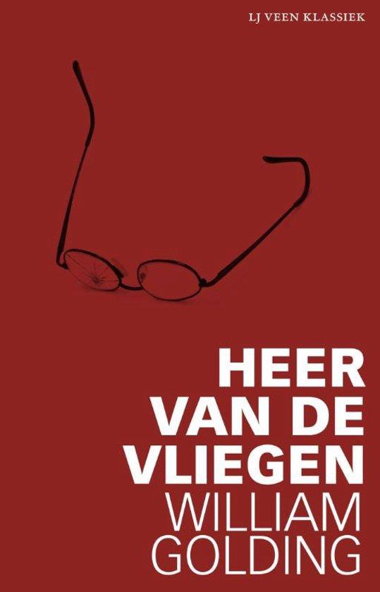 Boek cover LJ Veen Klassiek - Heer van de vliegen van William Golding (Paperback)