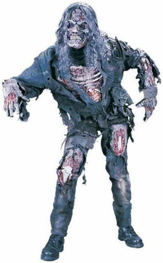 Zombie halloween horror outfit