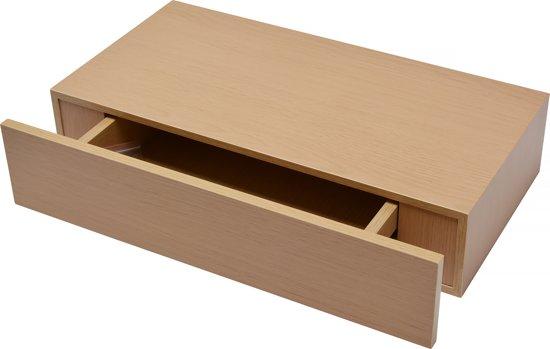 Zwevende Plank Met Lades.Bol Com Duraline Xl10 Wandplank Met Lade Eiken 48 X 25 Cm