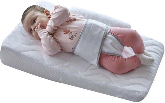 Babyjem Baby Positioner & Zijslaapkussen - Reflux Hulpmiddel – Baby Slaaphulp Voorkomt Buikslapen