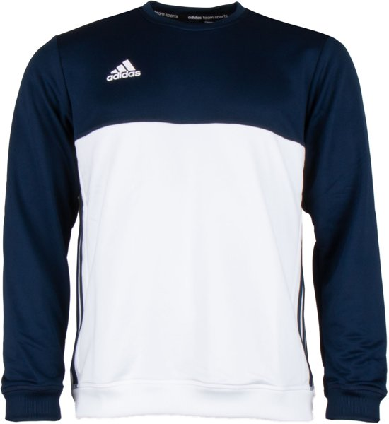 Adidas T16 'Offcourt' Crew Sweater Heren - Sweaters - blauw donker - XS