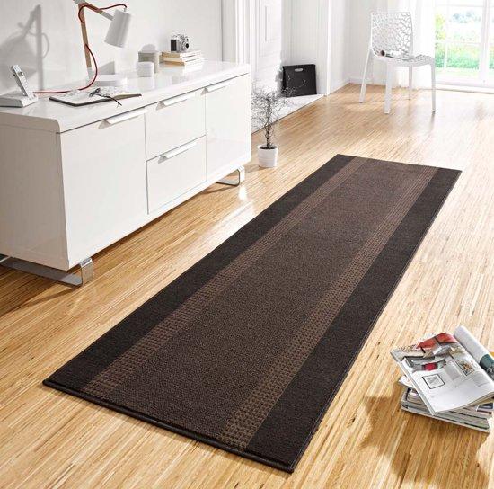 Loper 80x350cm bruin Hanse Home