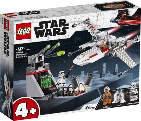 LEGO 4+ Star Wars X-Wing Starfighter Trench Run - 75235