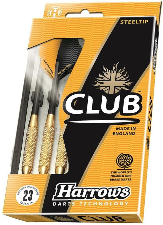 Dartpijlen set Brass Club 20 grams