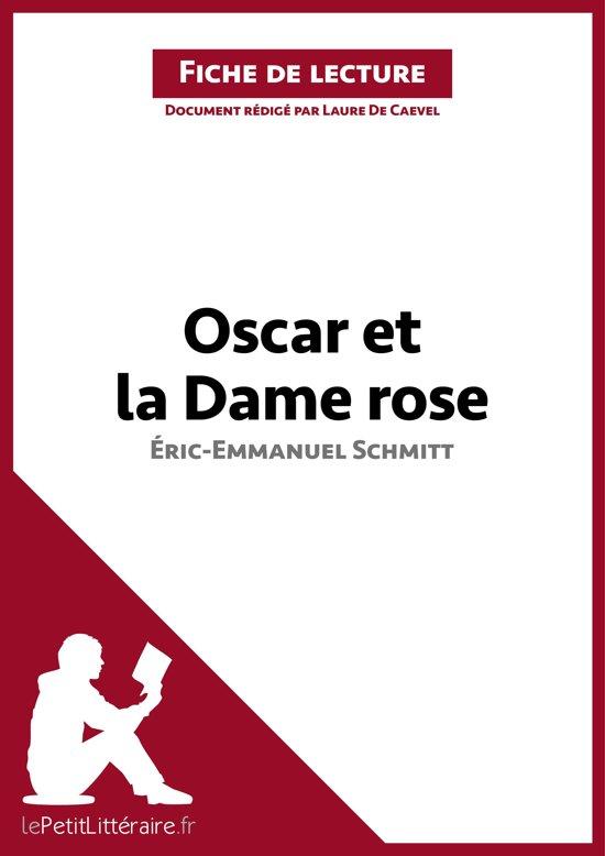 Oscar Et La Dame Rose Ebook