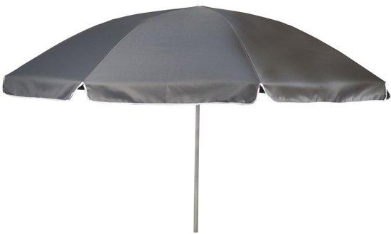 Parasol Met Knikarm - Ø 165 Cm - Grijs