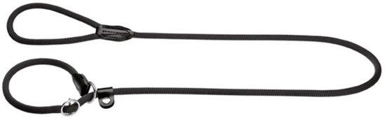 Hunter Retrieverlijn met Stop Freestyle - Hondenriem - Zwart - 8 mm x 170 cm