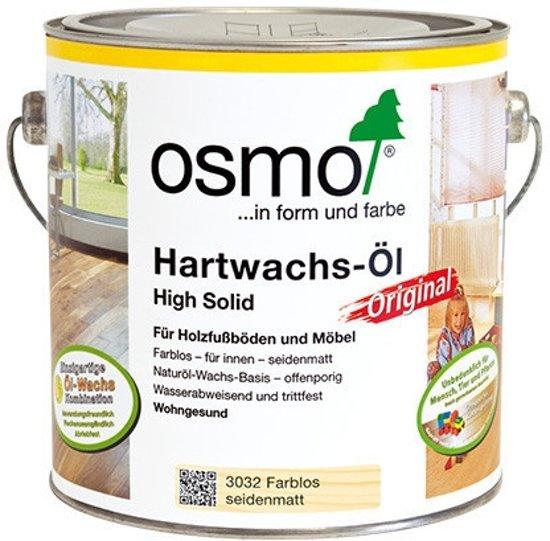 Osmo 3032 Hardwax olie 0.75ml Zijdemat kleurloos