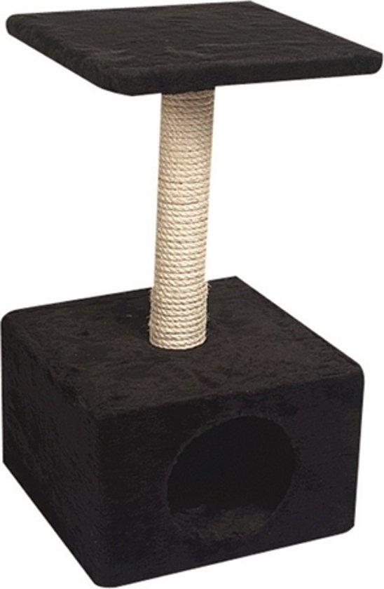 Karlie krabpaal amethyst zwart 30x30x55 cm