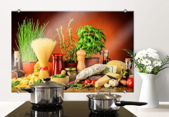 Spatscherm Keuken Glas : Bol glazen spatscherm italiaanse keuken cm keuken