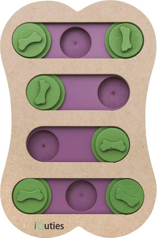 iQuties Bone Slots Hondenpuzzel - 33 x 45 x 3 cm
